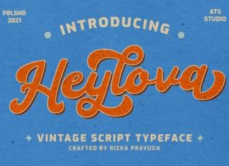 Heylova Font