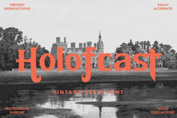 Holofcast Font