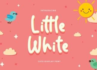 Little White Font