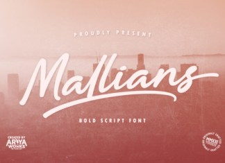 Mallians Font