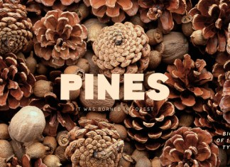 Pines Font