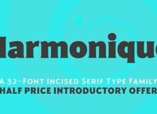 Harmonique Font