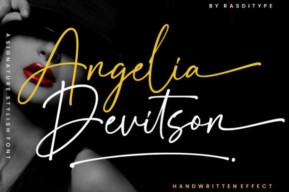 Angelia Devitson Font