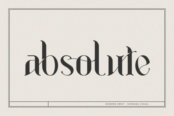 Absolute FontAbsolute Font