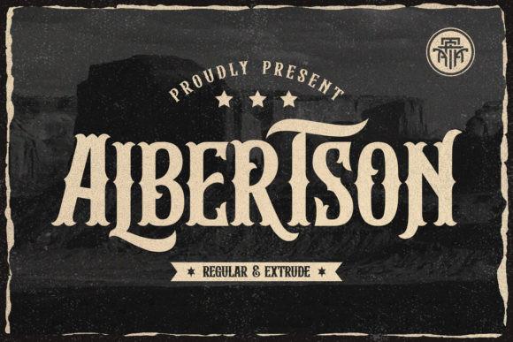 Albertson Font