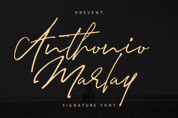 Anthonio Marlay Font