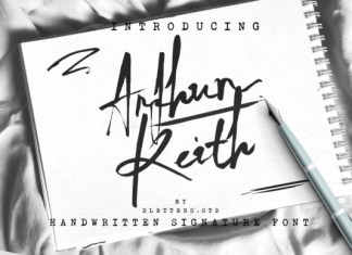 Arthur Keith Font