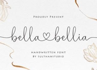 Bella Bellia Font