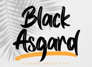 Black Asgard Font