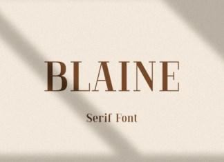 Blaine Font