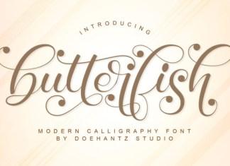Butterfish Font