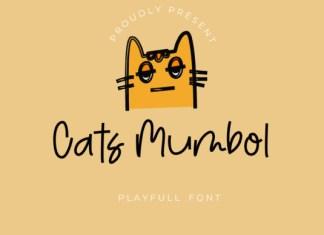Cats Mumbol Font