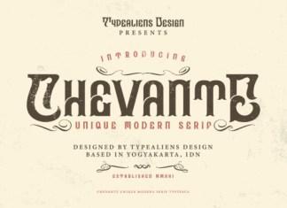 Chevante Font