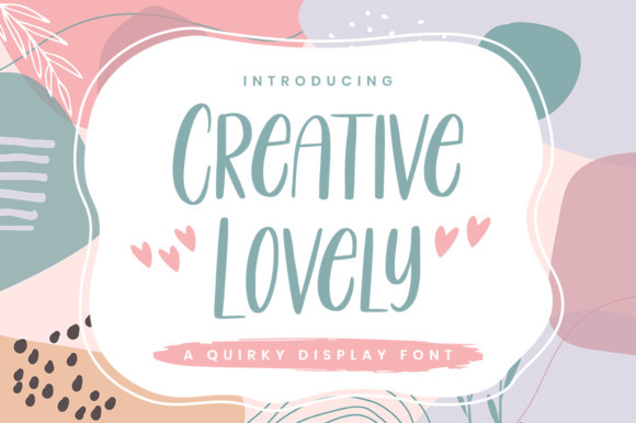 Creative Lovely Font