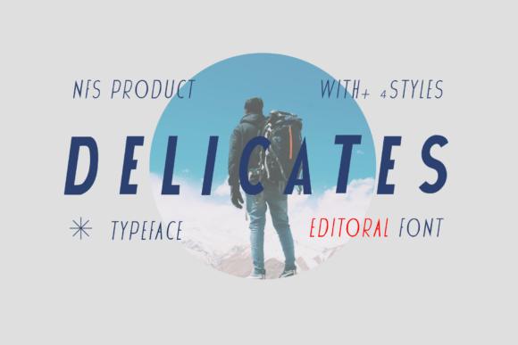 Delicates Font