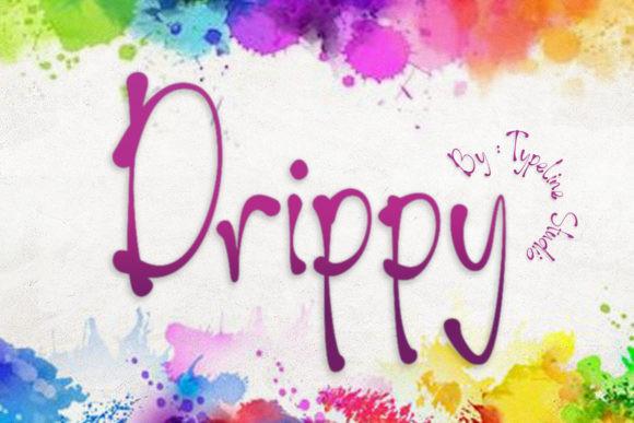 Drippy Font