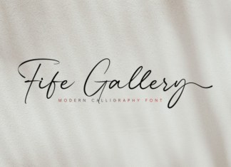 Fife Gallery Font