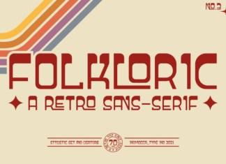 Folkloric Font