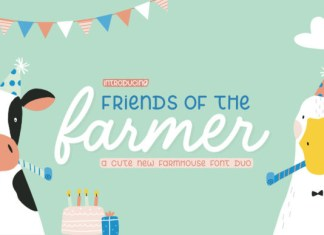 Friends of the Farmer Font