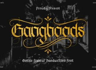 Ganghoods Font