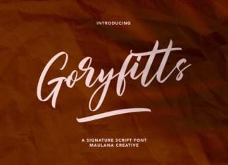 Goryfitts Font
