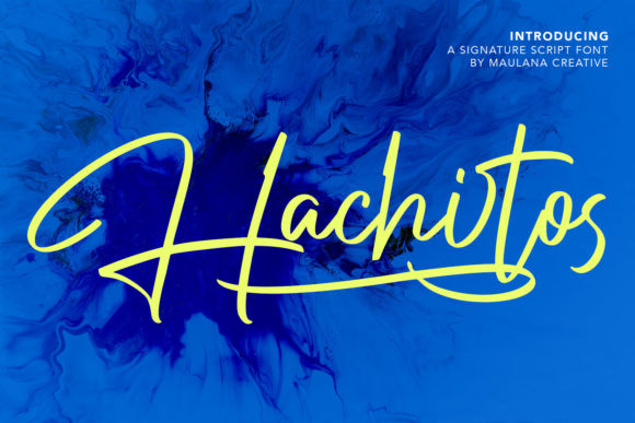 Hachitos Font