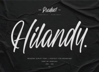 Hilandy Font
