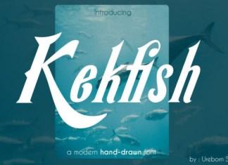 Kekfish Font