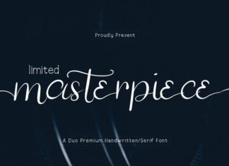 Limited Masterpiece Font
