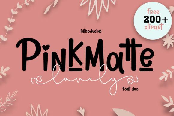 Lovely Pinkmatte Font