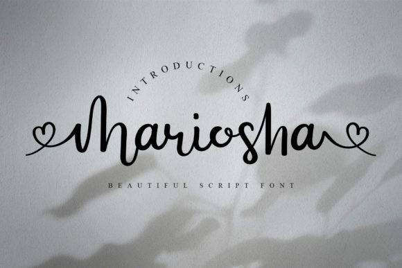 Mariosha Font