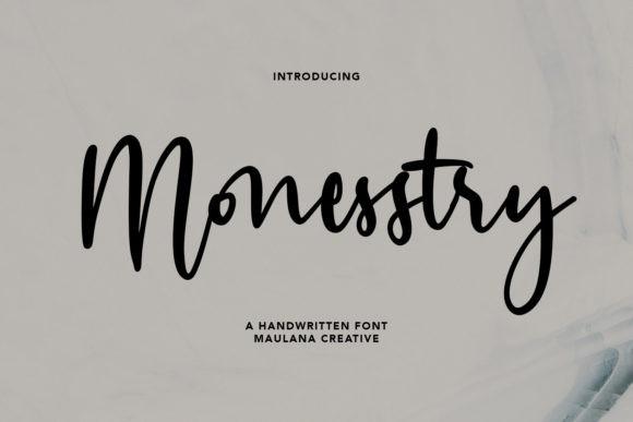 Monesstry Font