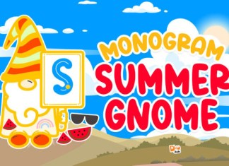 Monogram Summer Gnome Font
