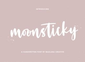 Moonsticky Font