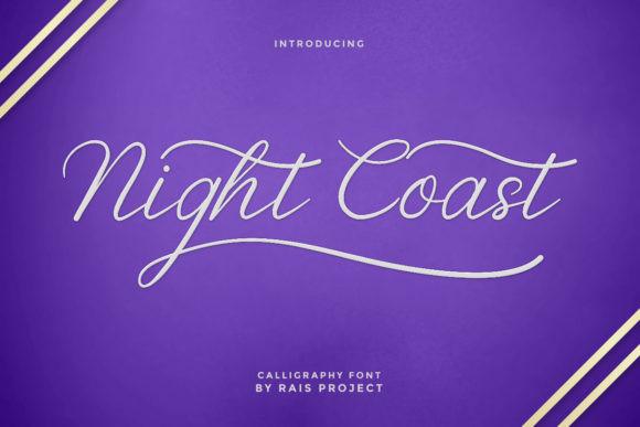 Night Coast Font