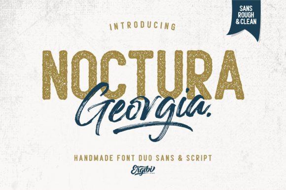 Noctura Georgia Font