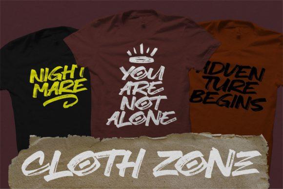 North Zone Font