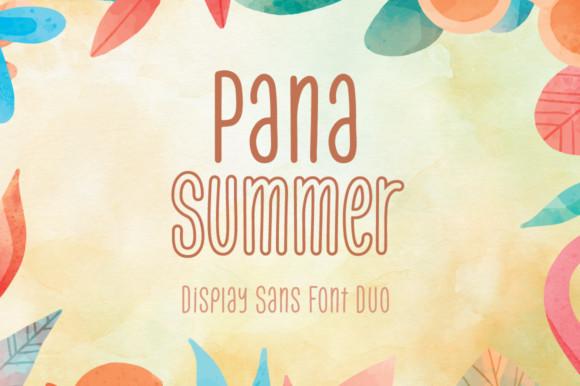 Pana Summer Font