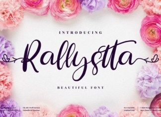 Rallystta Font