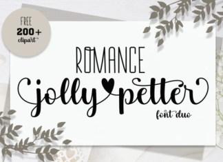 Romance Jollypetter Font