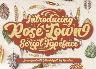 Rose Town Font