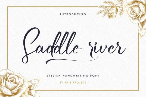 Saddle River Font