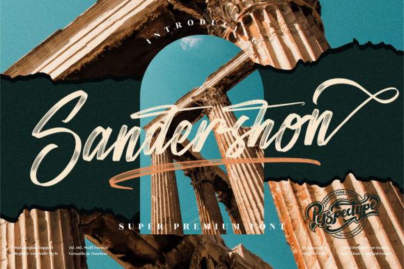 Sandershon Font