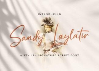 Sandy Lailyatir Font