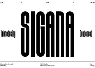 Sigana Font