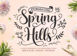Spring Hills Font