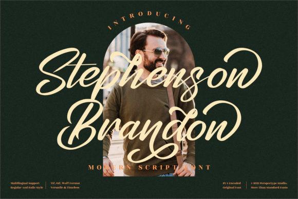 Stephenson Brandon Font