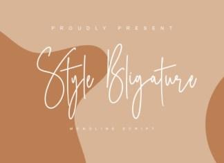Style Bligature Font