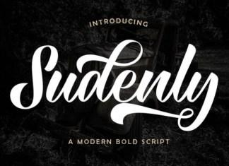 Sudenly Font