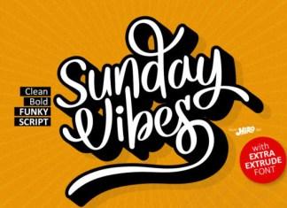 Sunday Vibes Font